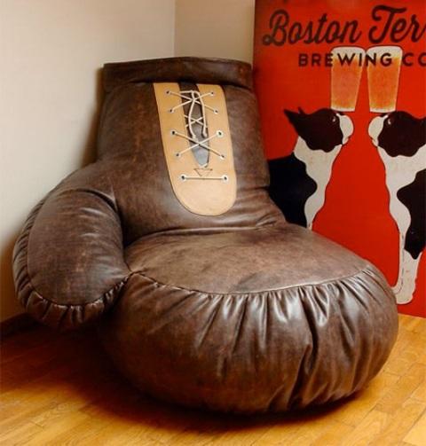 Original Boxing Glove Chair For Sport Fans - DigsDi