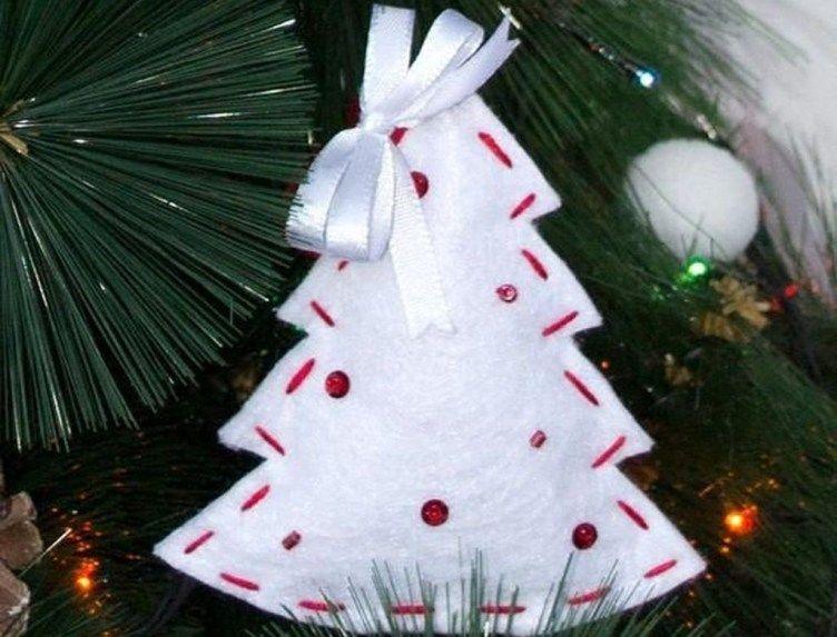Classy Original Felt Ornaments Ideas For Your Christmas Tree 32 .