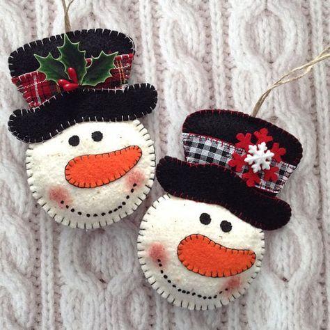 38 Original Felt Ornaments Decoration Ideas For Your Christmas .