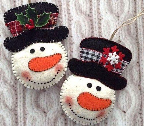 Classy Original Felt Ornaments Ideas For Your Christmas Tree 45 .