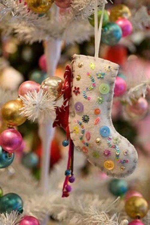 56 Original Felt Ornaments For Your Christmas Tree | Елочные .