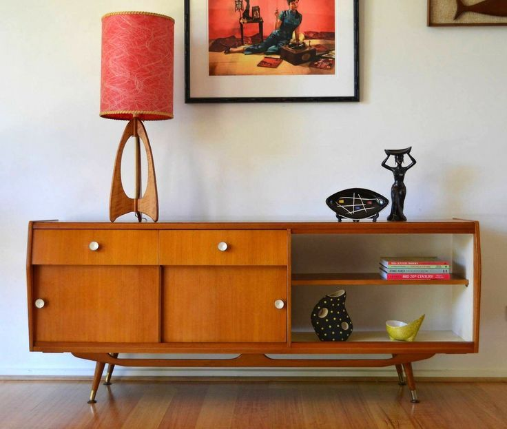 32 Original Mid-Century Sideboards You Gonna Love (With images .