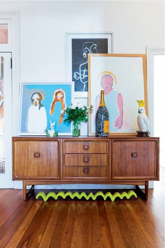 32 Original Mid-Century Sideboards You Gonna Love | House colors .