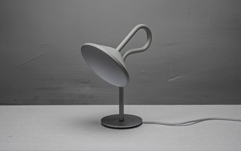 Simple and Original Lamp Design with Looping Stem – Round - The .