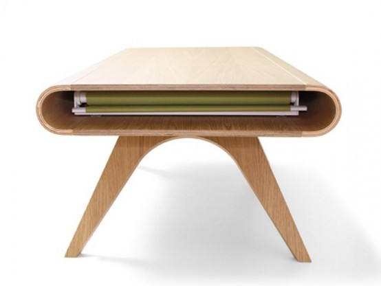 Original Tabrio Table With A Stain-Resistant Surface - DigsDi