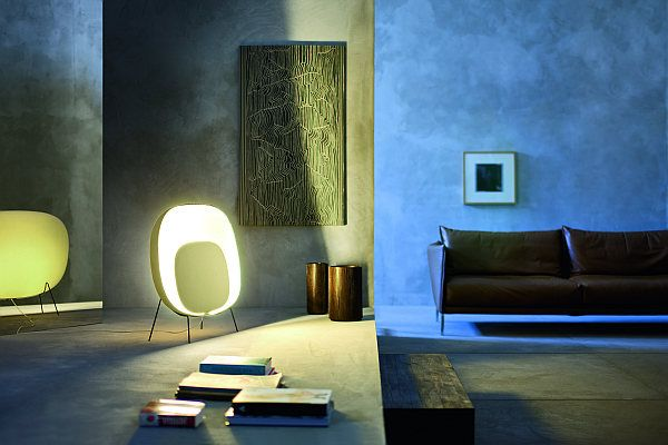 Animation of Light! Stewie Floor Lamp by Luca Nichetto for .