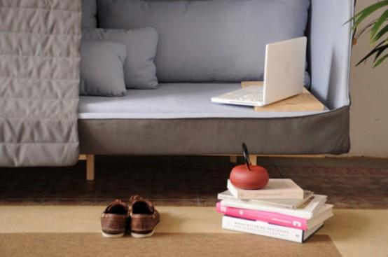 Interior Decorating and Home Design Ideas: Orwell Cabin Sofa For .