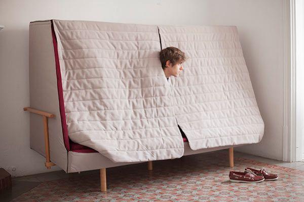 Orwell Sofa: A Private Urban Fort   Дизайн, Мебель, Детски