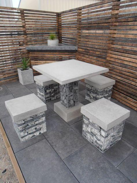 Outdoor Décor Trend: 26 Concrete Furniture Pieces For Your .