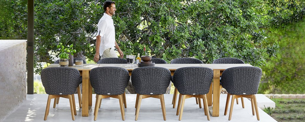 Cane-line outdoor dining - see selection – Cane-line.c