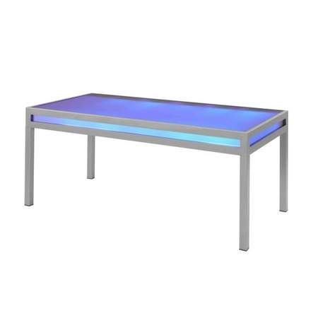 Club Dining Table w/ Built In LED Lighting Rentals | Rental .