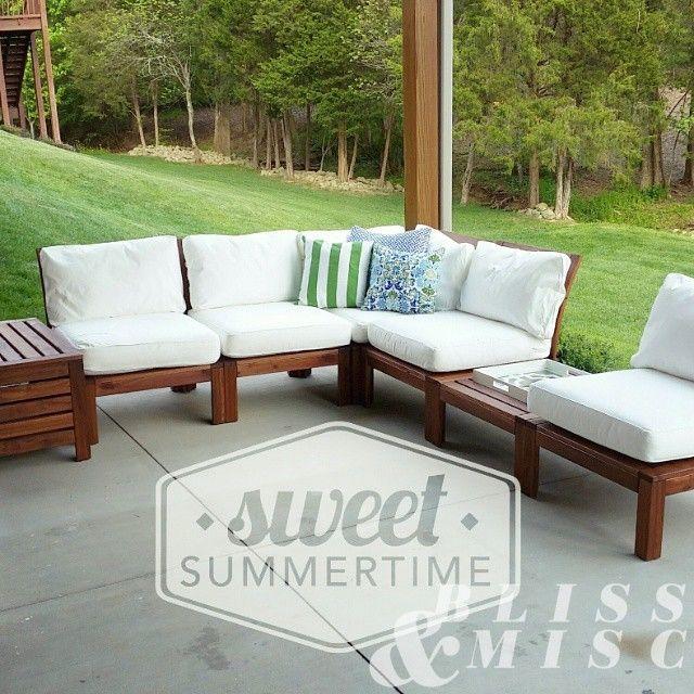 Outdoor Living - Ikea Applaro & A DIY Teepee | Ikea outdoor, Ikea .