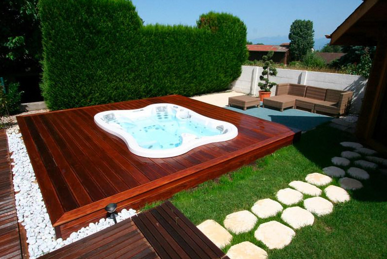 Best Outdoor Jacuzzi Designs   Pool Design Ide