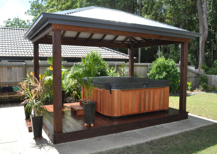 Outdoor Jacuzzi Pictures   Pool Design Ide