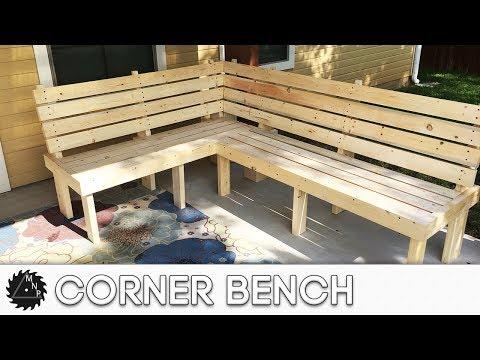 "Corner Bench (""L"" shape Bench) - YouTu"