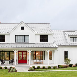75 Beautiful Farmhouse Exterior Home Pictures & Ideas - September .
