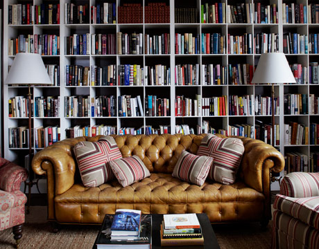 Home Design Decorating: 10 Outstanding Home Library Design Ide
