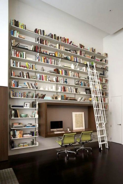10 Outstanding Home Library Design Ideas | Home library design .