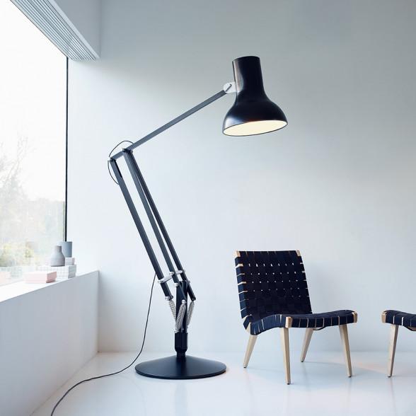 Anglepoise Floor Lamp, Type 75 Giant Reading Lamp | Utility Design