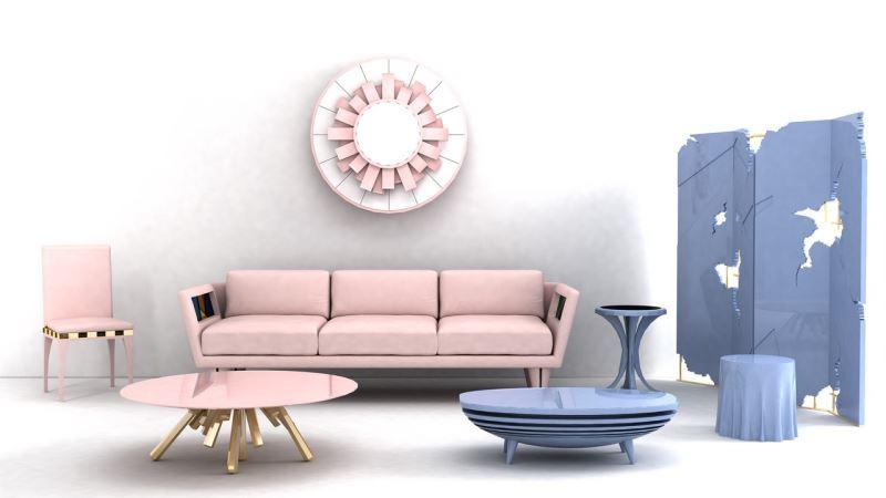 Pantone Style: More Rose Quartz and Serenity Decor Ide