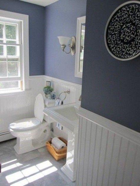 Pantone's Color 2016: Serenity Home Decor   Bathroom makeover .