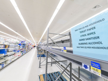 COVID-19: Shoppers pick shelves clean in Calgary grocery stores .