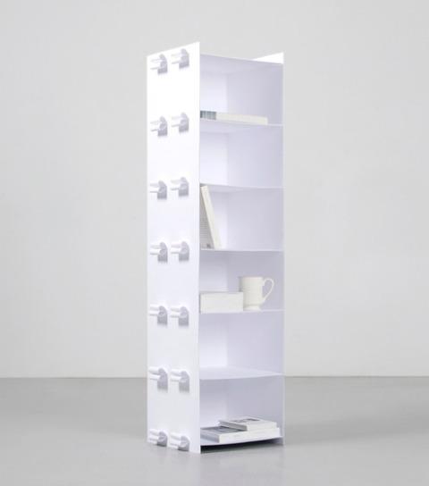 Paper Shelf To Celebrate The Invention Of Paper-Making - DigsDi