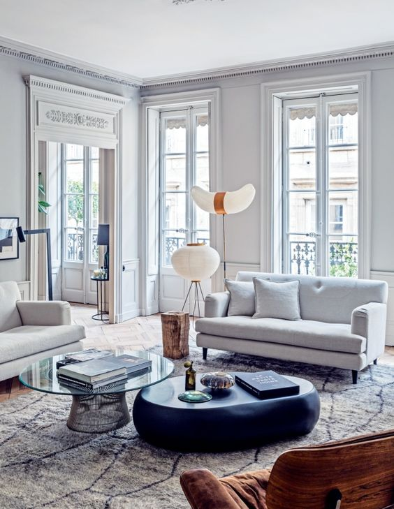 Design Inspiration - The Parisian Apartment | so then they s