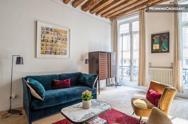 Furnished apartment for rent in Paris – Parisian style apartme