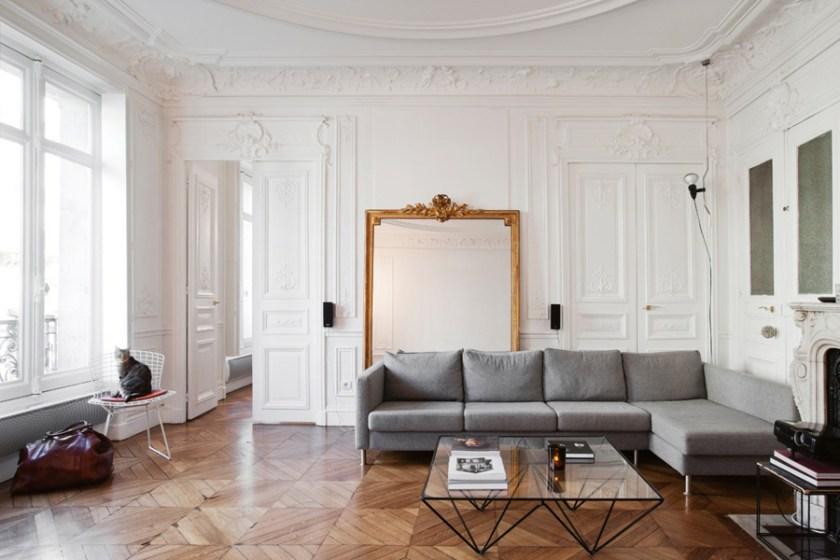Parisian Apartment Style: How to Get a Paris Apartment Vi