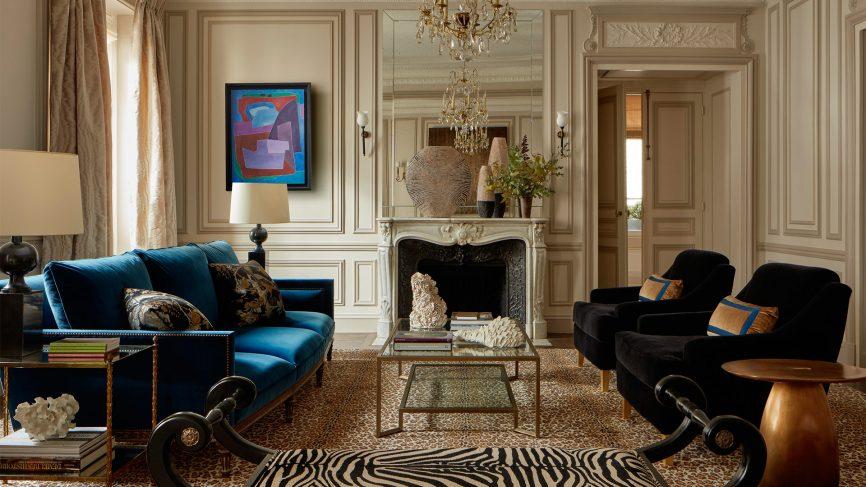 Paris: A vintage Haussmann-style apartment on Quai Voltai