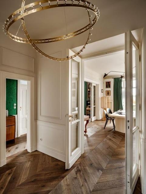Original 1930s Paris-Style Apartment In Warsaw - DigsDi