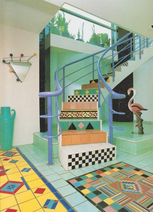 1980s furniture | Tumblr | Retro interior, 80s interior design .