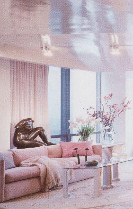 palmandlaser | Retro interior design, Pastel interior, Minimalist .