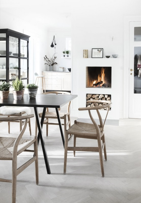 Peaceful And Lovely Scandinavian-Style Villa Filled With Natural .