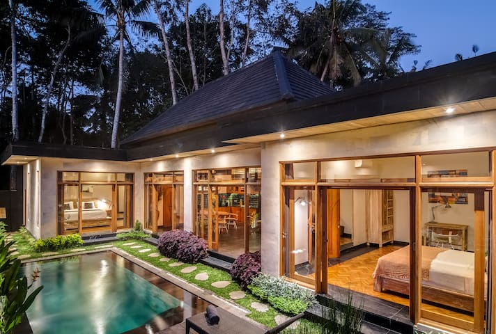 Cozy New Tropical Villa - Peaceful with Nature - Villas for Rent .