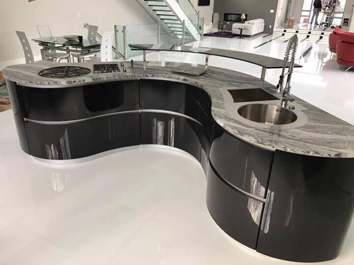 Modern Pedini Kitchen Showcase • Sims-Lohman Fine Kitchens and Grani