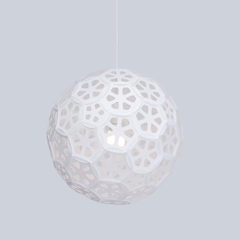 Large Flower Sphere Pendant Light | Flower Ball – 24d-studioSto