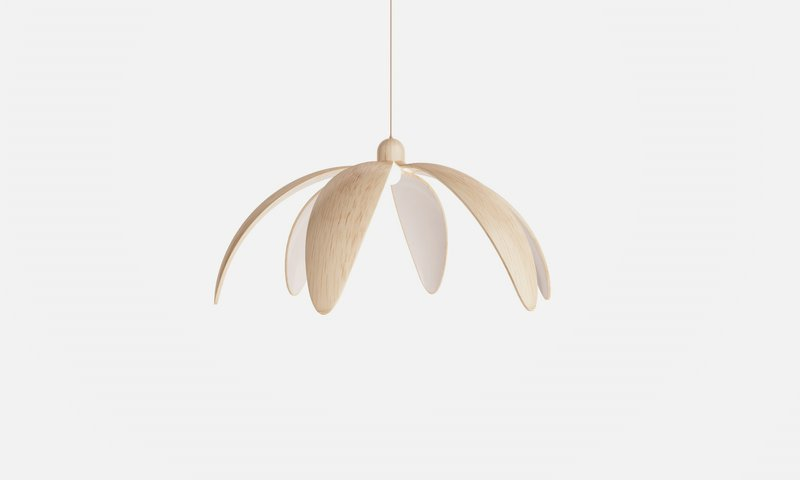 Beautiful Pendant Lamp Inspired by Blooming Flower – Bloom - The .