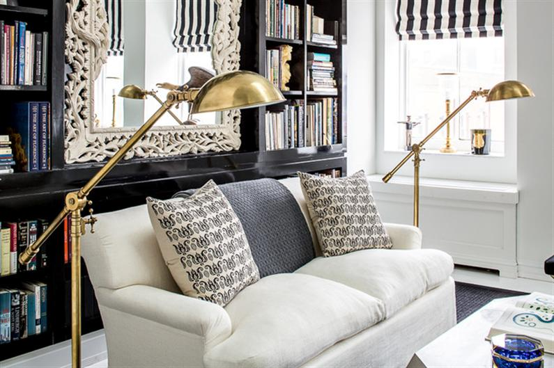 Eclectic design style and originality for Soho Penthou