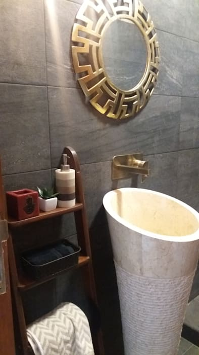 2500 sq ft penthouse eclectic style bathroom by ds design studio .