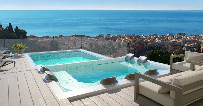 Apartments and penthouses with rooftop pools for sale — idealis