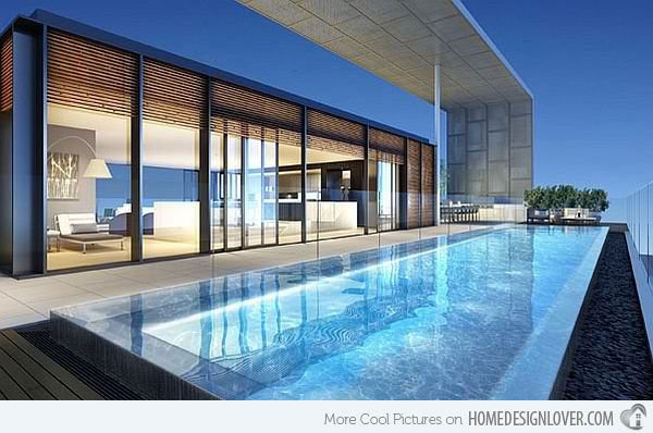 15 Stunning and Relaxing Rooftop Pools | Home Design Lover .