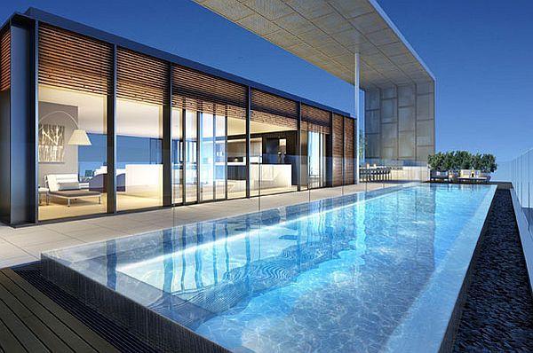 The Hyde penthouse - pool rooftop terrace - Decoist | Luxury .