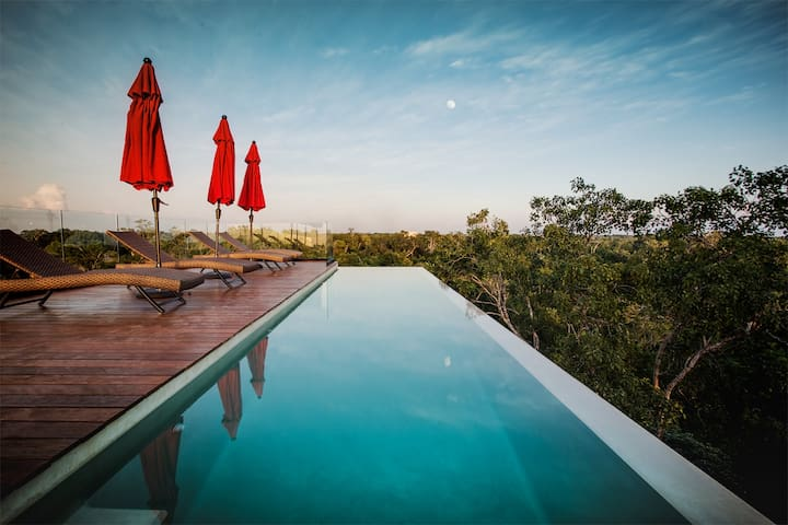 Sky Penthouse / Rooftop Infinity Pool 5 wd - Serviced apartments .