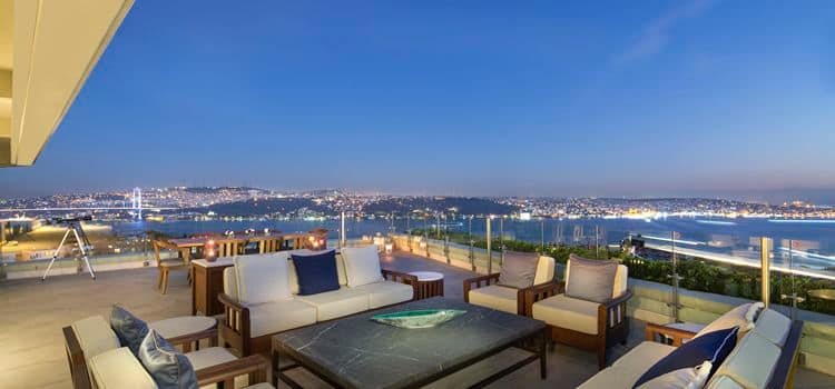Istanbul Hotels | Conrad Istanbul Bosphorus | Istanbul, 3D Floor Pla