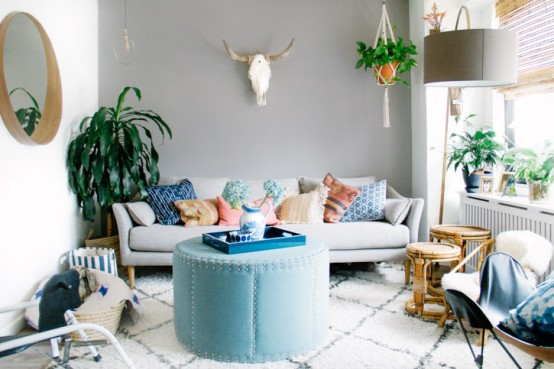 Personalized Family Condo With Touches Of Blue - DigsDi