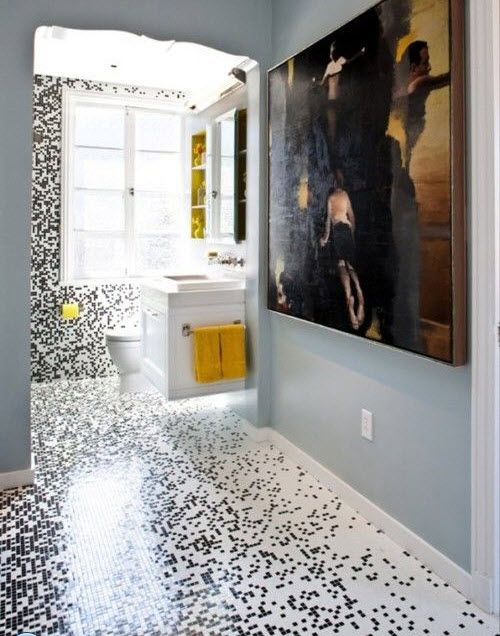 26 white glitter bathroom floor tiles ideas and pictures .
