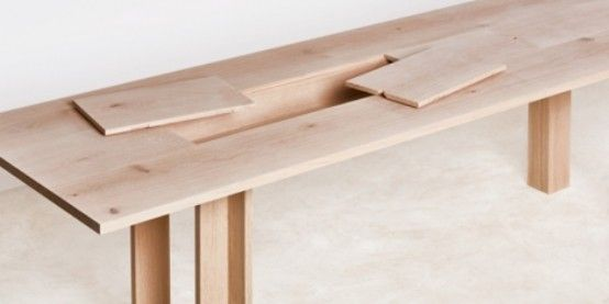 Planks Furniture Collection With Hidden Storage Spaces | Furniture .
