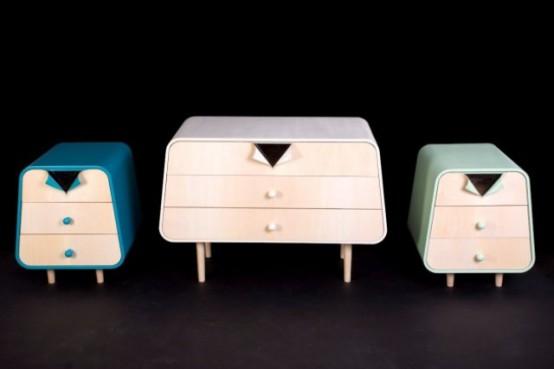 Playful Yet Minimalist Neotoi Children Furniture Collection .